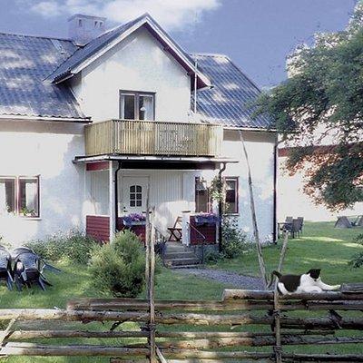 Boendet man kan hyra och djur som finns på gården.