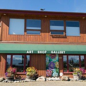 Visit us at the Art Shop Gallery at 202 W. Pioneer Avenue in Homer, Alaska, or online at www.artshopgallery.com