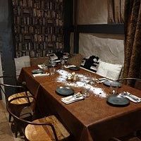 Table décoration de noel