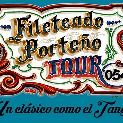 Fileteado Porteño Tour 054