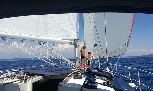 Sailing trip to kornati