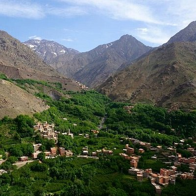 imlil valley and berber villages