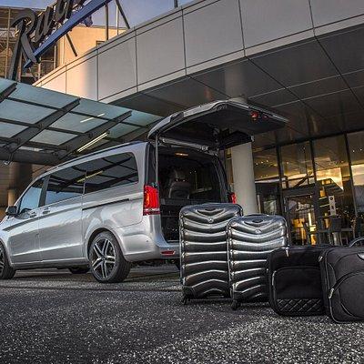Business Van bis zu 6 Personen by www.airportdriver.taxi