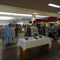 Large expanse of floorspace makes shopping easy
