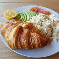 Egg Salad with Croissants