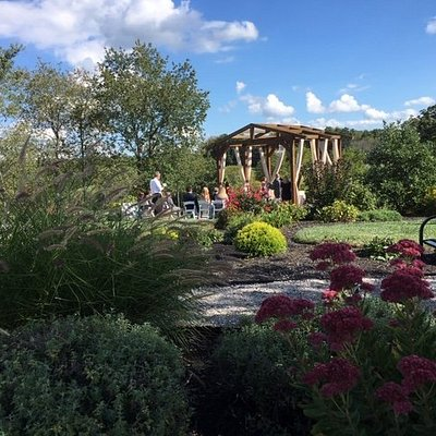 The beautiful wedding site. Perfect for intimate weddings of less than 125 people.