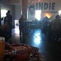 the inside bar/warehouse