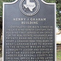 Henry J. Graham Building, Boerne. TX