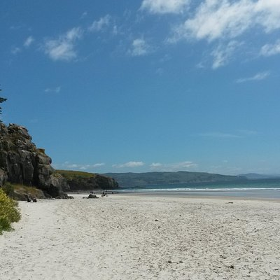 Long Beach is a small coastal settlement in Otago, New Zealand