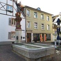 Albrechtsbrunnen à Rheinfelden