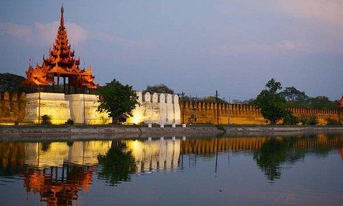 Mandalay Palace Wall