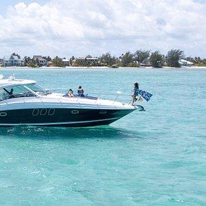 The Five Star Charters 48' Sea Ray Sundancer Cruiser