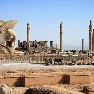 Persepolis or Takhte Jamshid, Shiraz, Iran