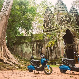 Sustainable travel and smart Ecotourism in Siem reap Angkor cambodia💚 Like never before! Book your Electricbike today! Blue Electric bike Rental Service  Tel : what's up +855962664411 Web: https://blue-e-bike-rental-and-travel.business.site
