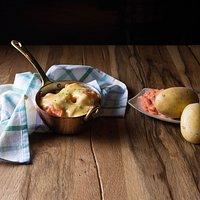 Patatas al forno e salmone!!!