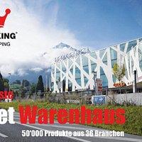 Das grösste Outlet Warenhaus der Schweiz