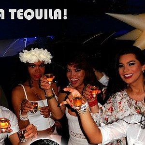 Exilio is filled with fun loving Latinos and their admirers