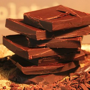 Did you know that dark chocolate is a super food?  - Super rich in Antioxidants - High in minerals like Magnesium and Iron, - Great for a healthy lifestyle  - Contains Anandamide - The Bliss chemical - Rich in vitamins: B1, B2, B3, B5, B9, E  - Normalizes blood pressure                                     - Lowers cholesterol                          - Good for the heart - Helps preventing cancer  - Natural stimulant  - Relieves stress and Increases brainpower   - Slows down the aging process