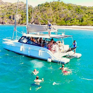 Family Fun, Snorkeling & Private Beach Discoveries aboard the Dream Chaser Tamarindo!