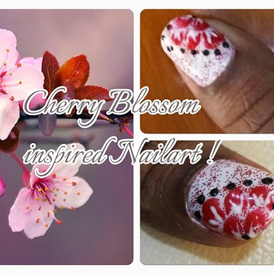Nailart on Natural nails !  Inspired by Nature !! On request by clients