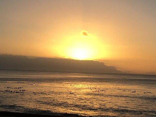 Sunrise over Muizenberg