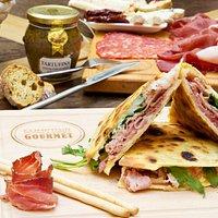 Piadina, Planche et Truffe, les saveurs du Comptoir Gourmet
