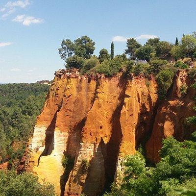 vista sulle rocce dalla terrazza panoramica