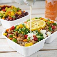 Yummy fresh salad