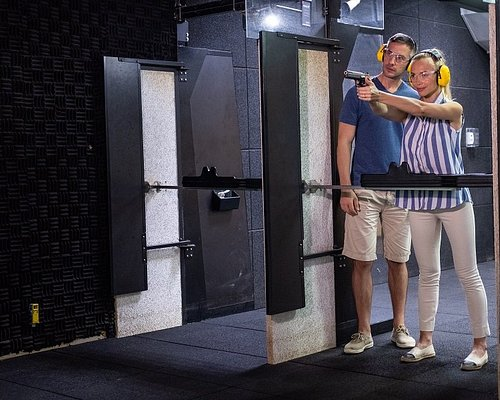 JA Shooting Club features a 25-metre indoor, air-conditioned pistol shooting range.