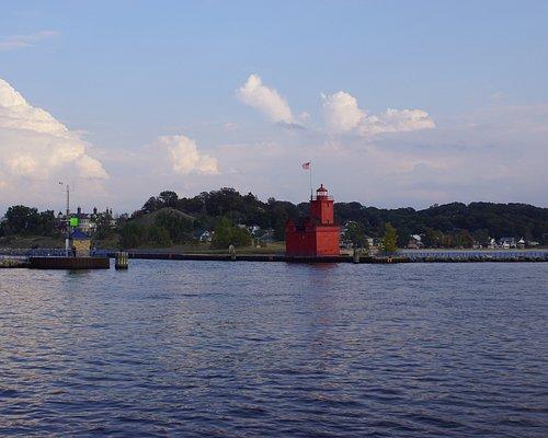 Skyline mit Big Red Lighthouse