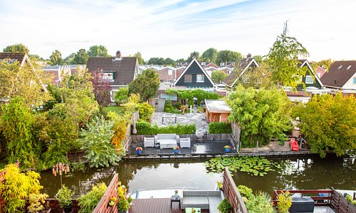 Upper Floor View - We are located by the beautiful canal in the lovely town of Landsmeer.