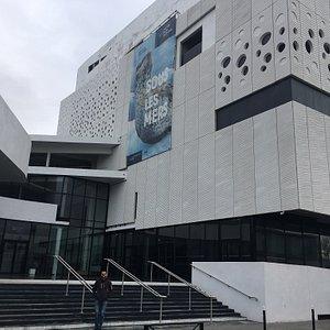 Vue de l'entrée du musée que nous avons visité ce vendredi 25 janvier 2019