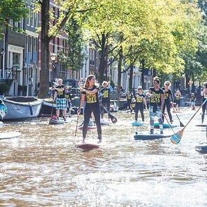 Amsterdam sup tour