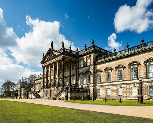 The East Front facade of Wentworth Woodhouse.