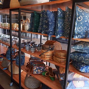 Cushions and bags