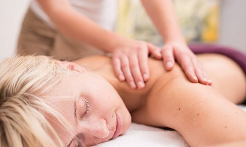 Relax with a Hot Stone Massage, Full Body Massage or our Back Massage with a salt scrub
