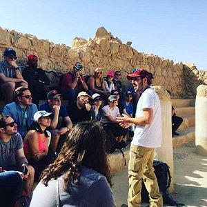 A beautiful day at Masada