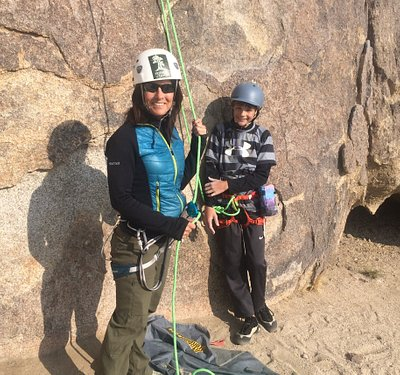 Mother-son Climbing time;)
