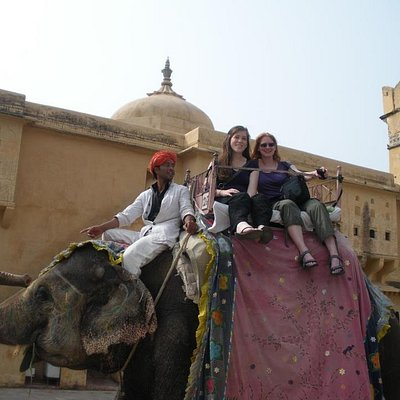 Elephant Ride at Amer Fort, Jaipur