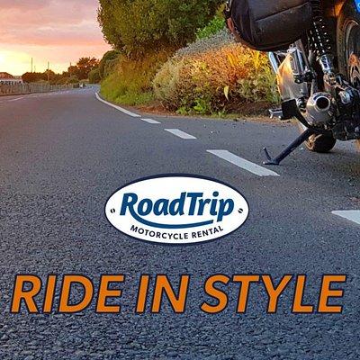Oliver's ride into a West Country sunset - RoadTrip Triumph Bonneville T100