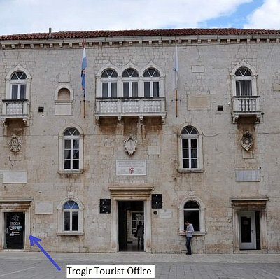Trogir Tourist Office  on main square