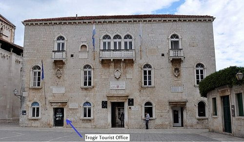 Trogir Tourist Office  on main square