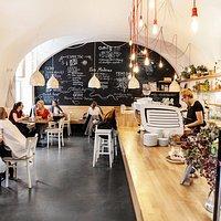 Café Datel interior