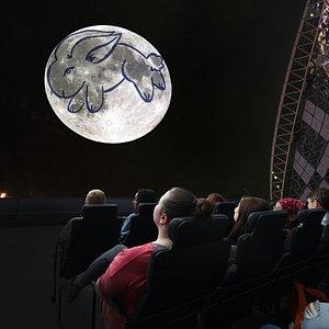The Adler's new show, Imagine the Moon