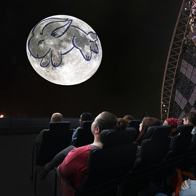The Adler's new show, Imagine the Moon