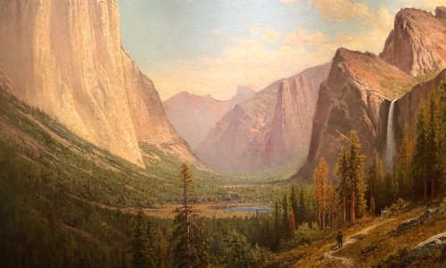 Yosemite Valley, Raymond Dabb Yelland