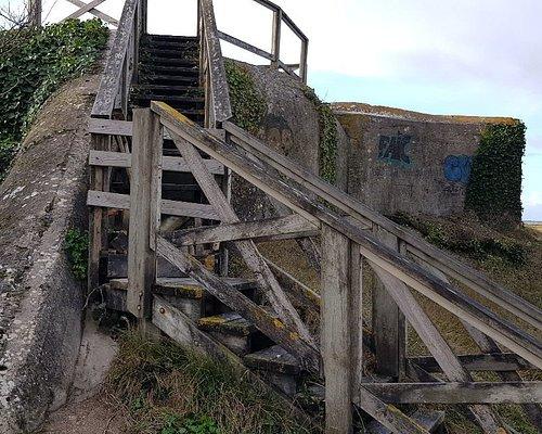 Le Mur de l'Atlantique et les bunkers de Cayeux