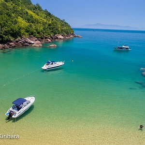 Panorâmica Praia do Sul - Ilha Anchieta