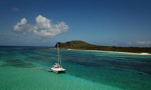 catamaran trip to northern islands