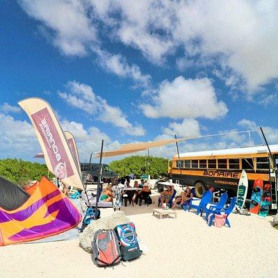 Bonaire Kiteschool hang out